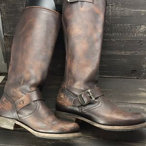 Frye Veronica Slouch Boots Size 7.5B